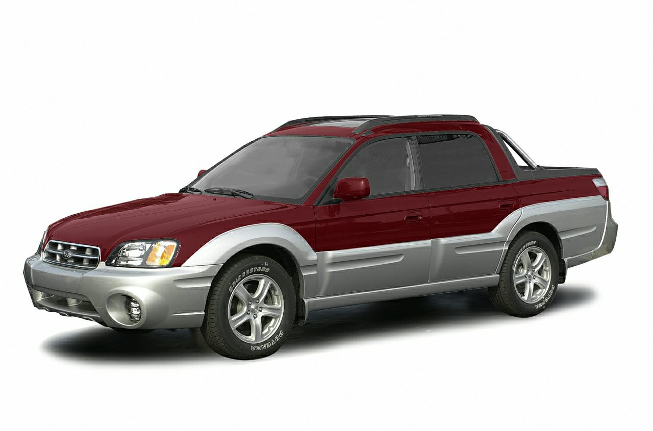 2003 Subaru Baja Base Clean Carfax - Only 2 previous owners - Power moonroof - CD player - Power dr
