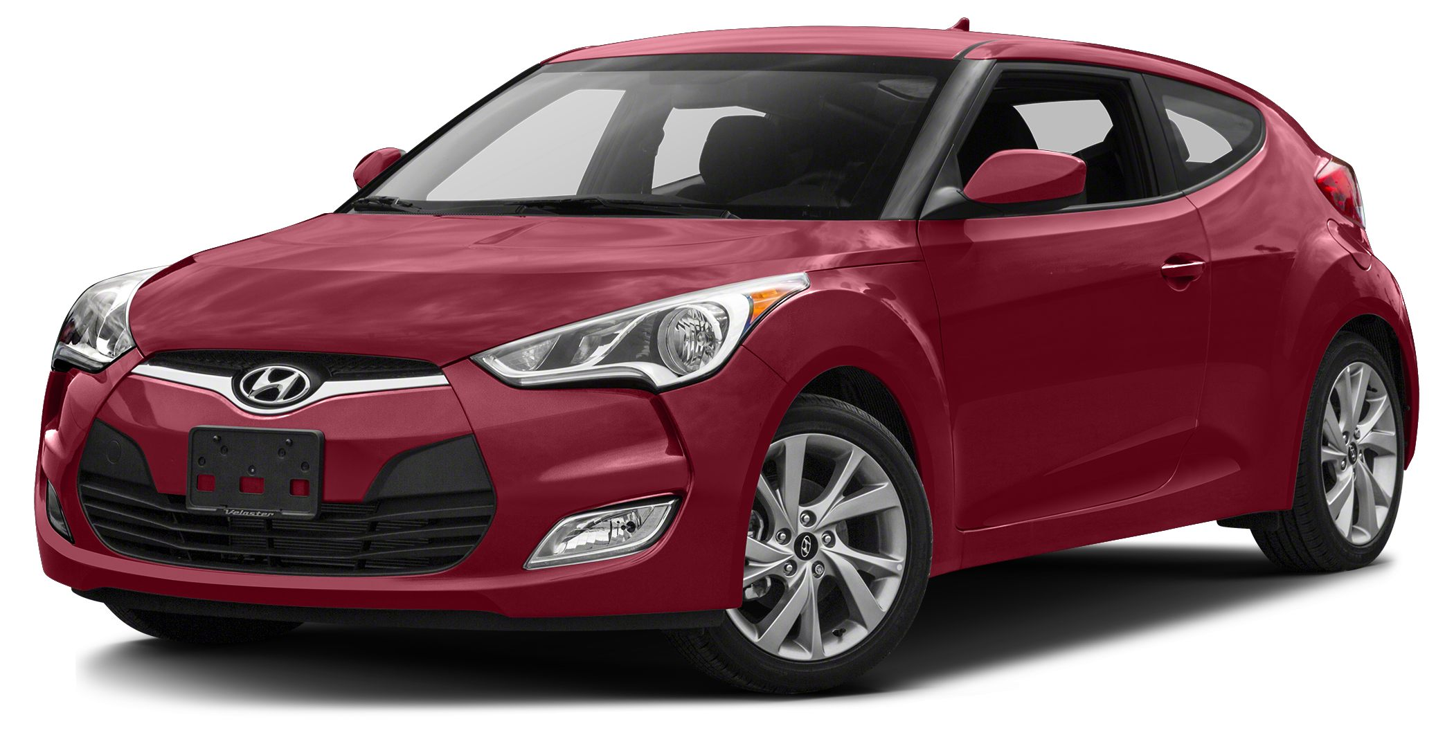 2016 Hyundai Veloster Base CARFAX One-Owner Clean CARFAX Red 2016 Hyundai Veloster FWD 6-Speed E