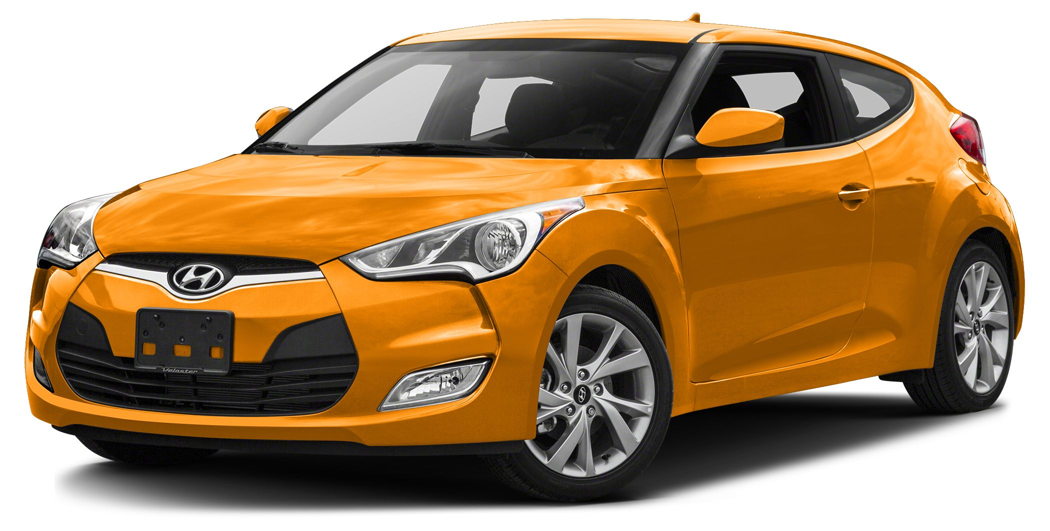 2016 Hyundai Veloster Base Miles 14837Color 262 Yellow Stock P2570 VIN KMHTC6AD1GU303568