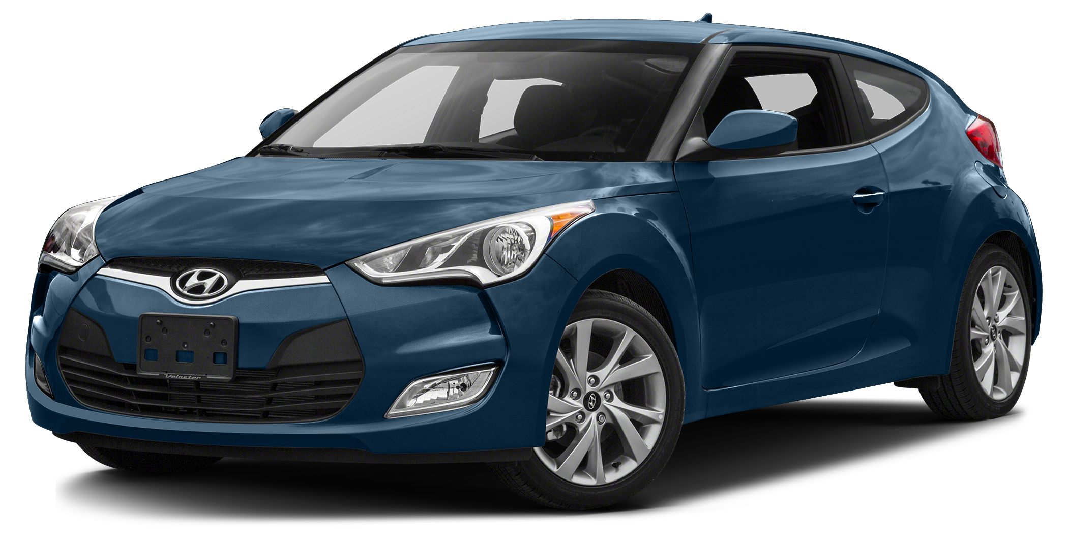 2017 Hyundai Veloster Value Edition Bluetooth Miles 10Color Pacific Blue Stock 15696 VIN KM