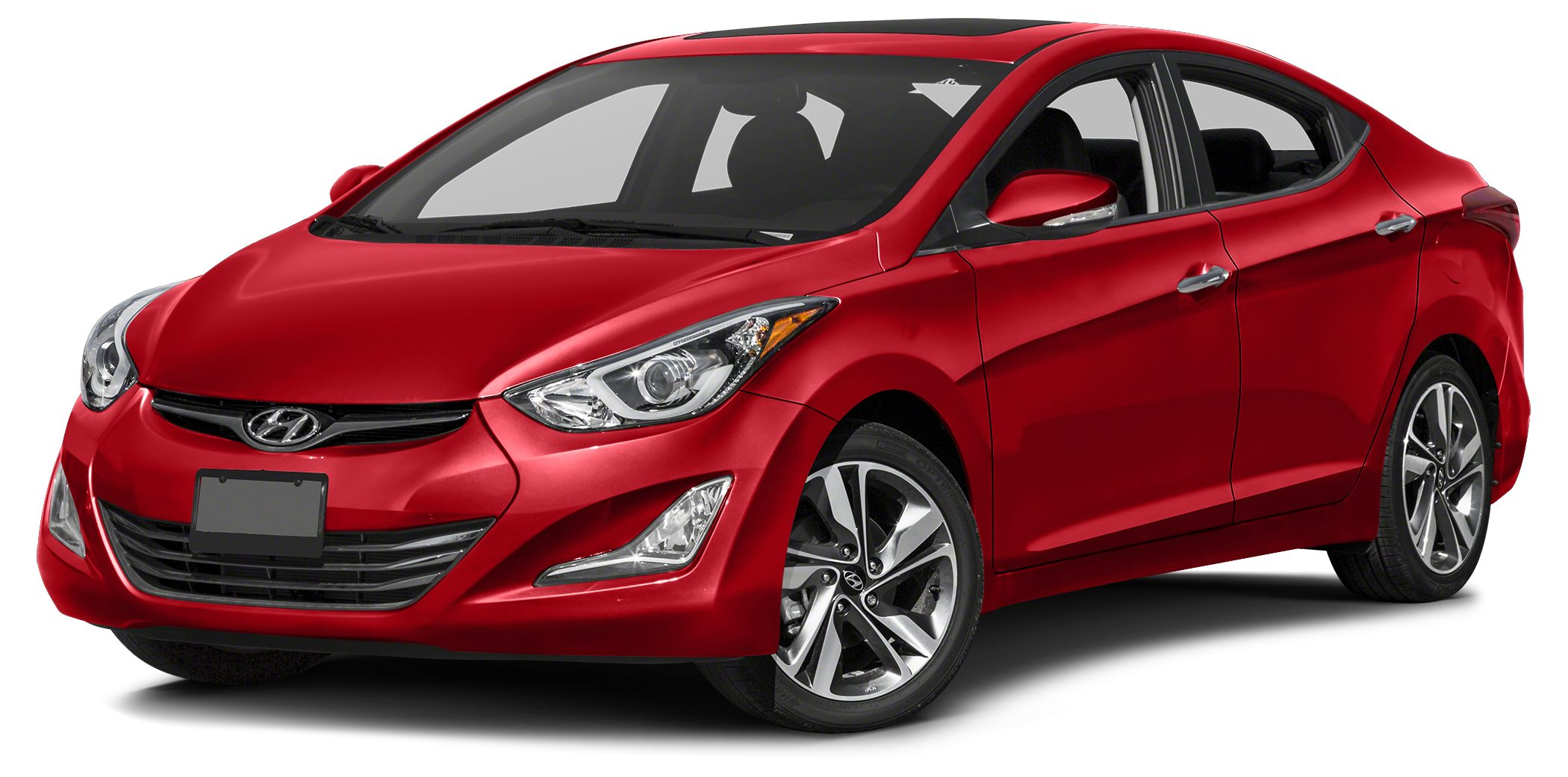 2016 Hyundai Elantra Limited Bluetooth Hands-Free Phone System 43-inch Color Display With Rearvi