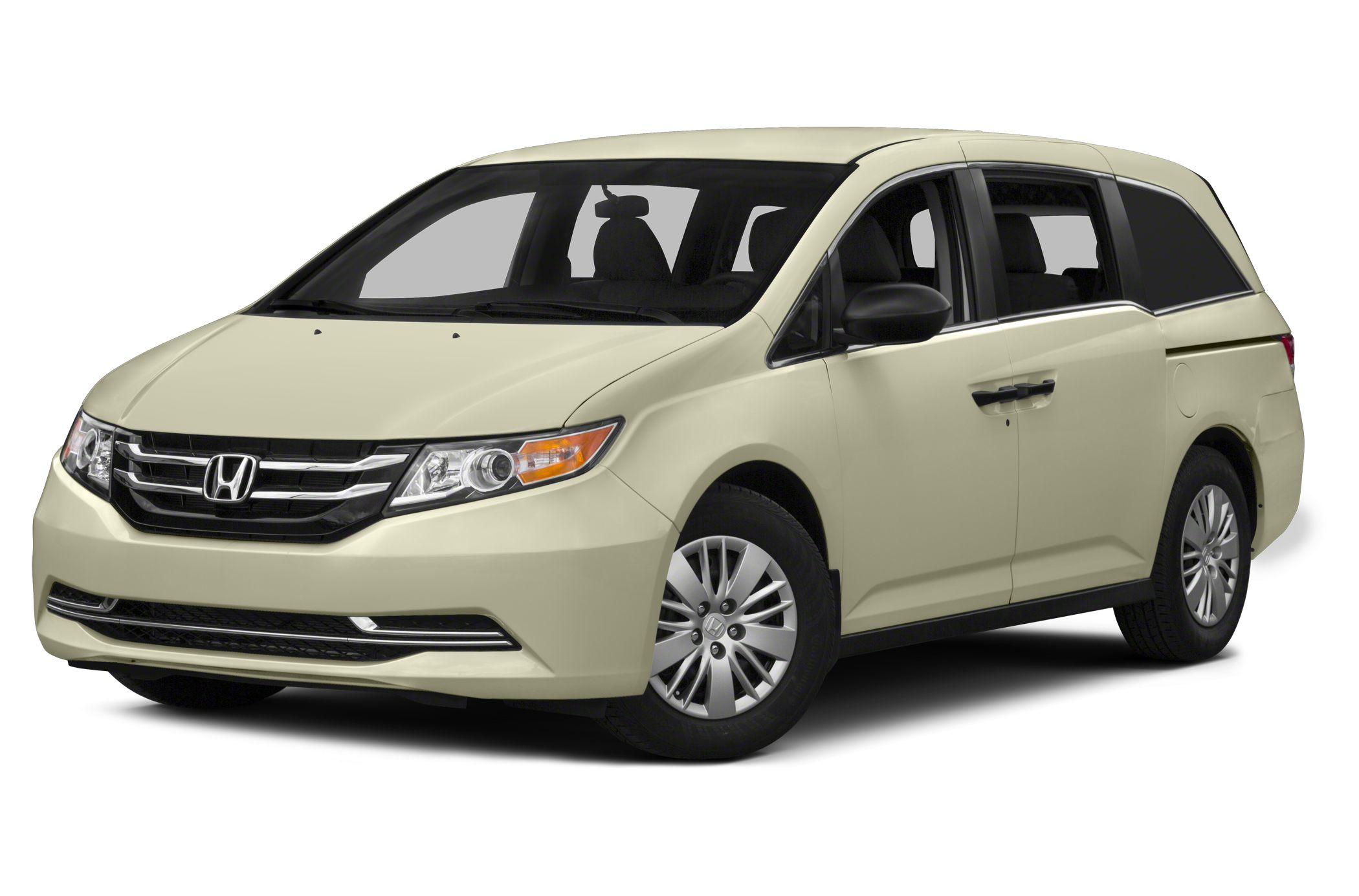 2014 Honda Odyssey LX LOW MILES - 5068 Alabaster Silver Metallic exterior and Gray interior FUE