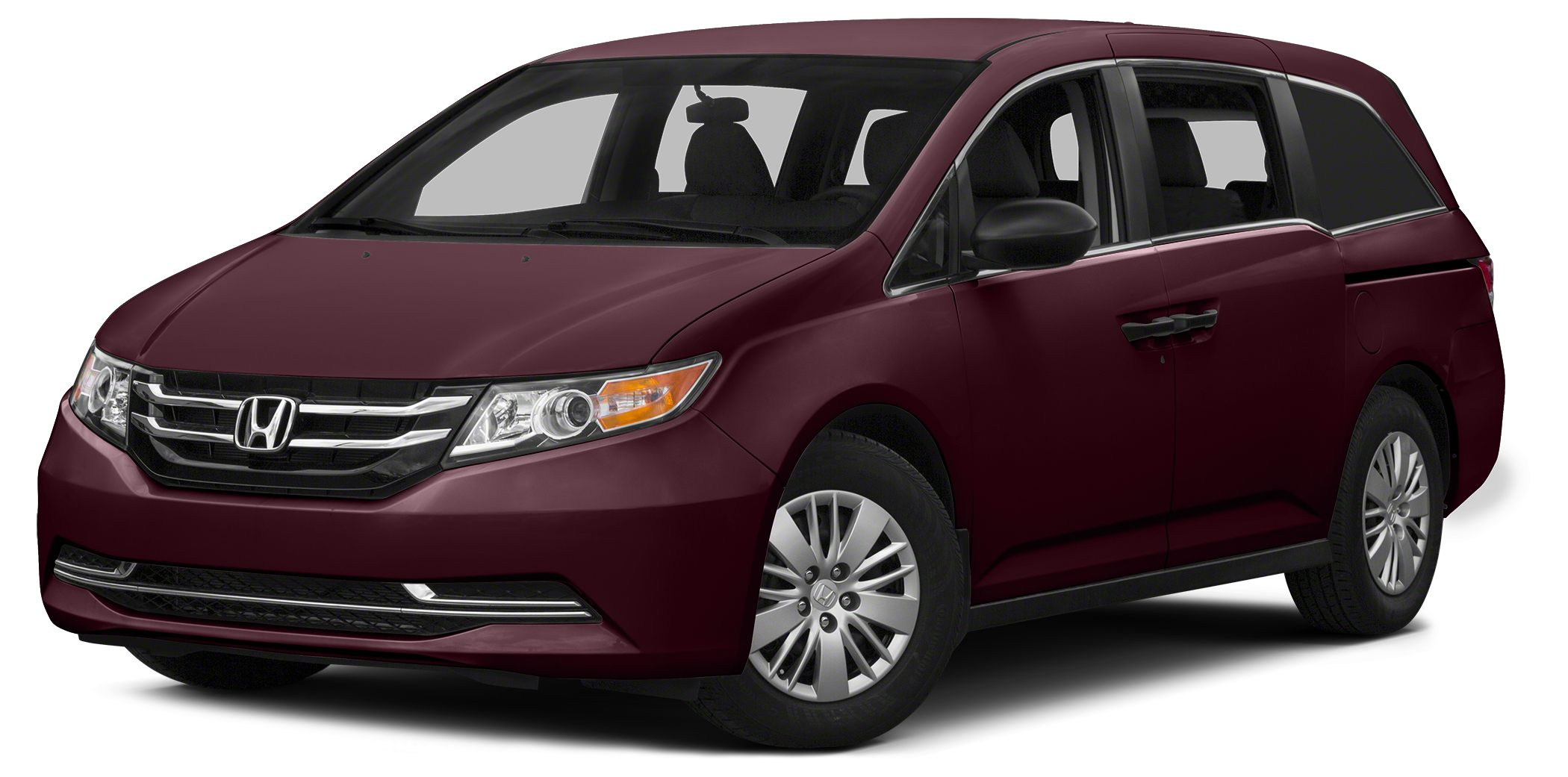 2014 Honda Odyssey LX Miles 34538Color Red Stock H151899A VIN 5FNRL5H22EB003363