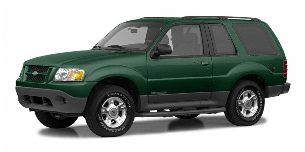 2002 Ford Explorer Sport Base Miles 181396Color Aspen Green Clearcoat Metallic Stock D21995 V