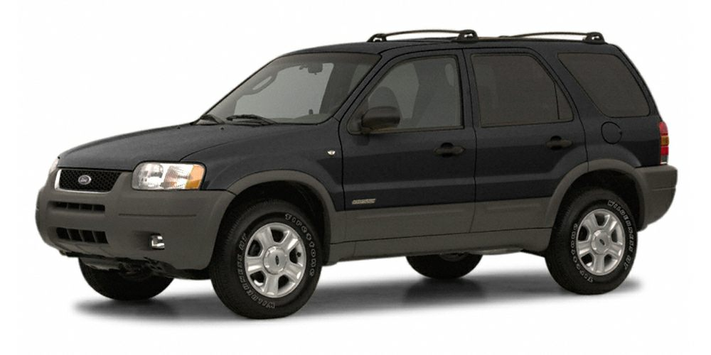 2002 Ford Escape XLS CARFAX 1-Owner XLS Choice trim FUEL EFFICIENT 24 MPG Hwy19 MPG City Edmun