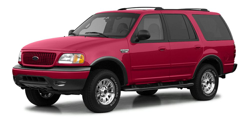 2002 Ford Expedition Eddie Bauer Miles 50000Color Red Stock K16811A VIN 1FMRU17W22LA59060