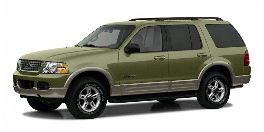 2002 Ford Explorer Eddie Bauer Explorer Eddie Bauer and 40L V6 SOHC Flex Fuel 4X4 Green Machine