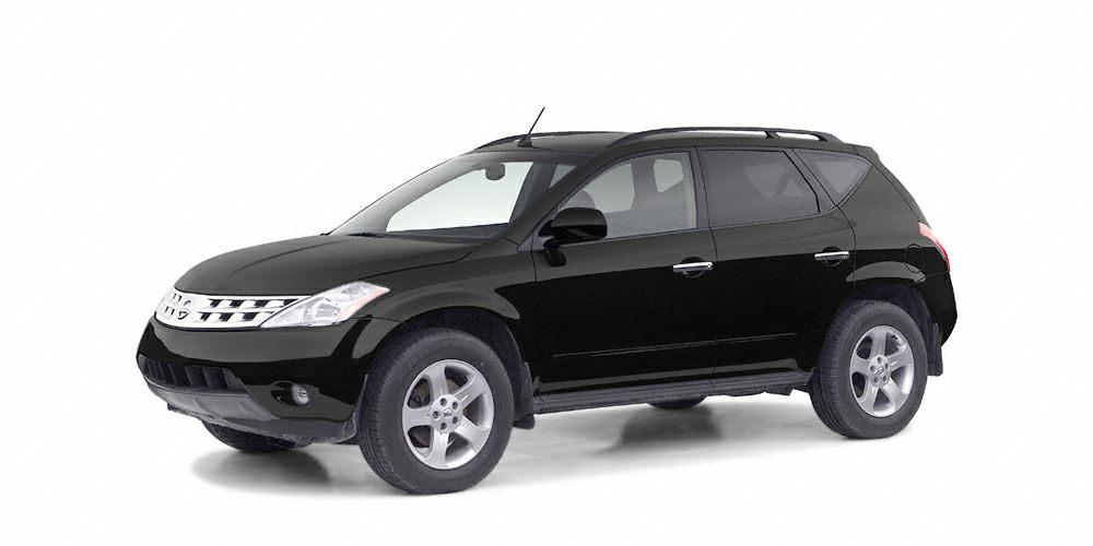 2004 Nissan Murano SL Miles 103457Color Black Stock 4W218499 VIN JN8AZ08T94W218499
