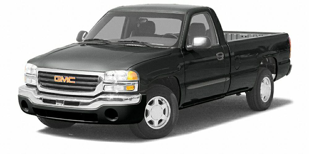 2005 GMC Sierra 1500 1190 WB Sierra 1500 trim 12000 MIle Warranty Dual Zone AC CD Player All