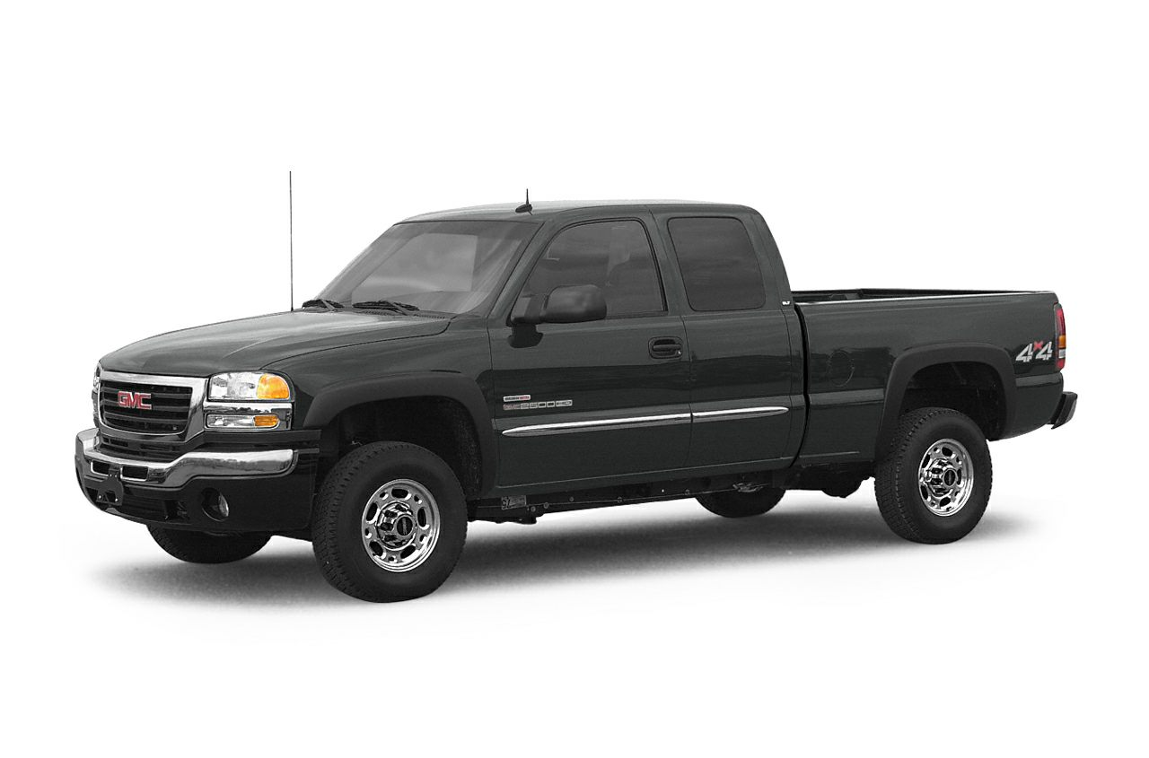 2005 GMC Sierra 2500HD  Full Power 8 cyl 66L DI Diesel Turbocharged OHV and 4WD Diesel Extended