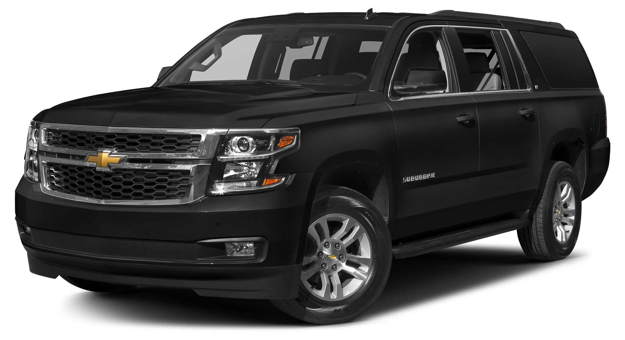 2017 Chevrolet Suburban LT Heated Leather Seats Tow Hitch Quad Seats Power Liftgate WHEELS 20
