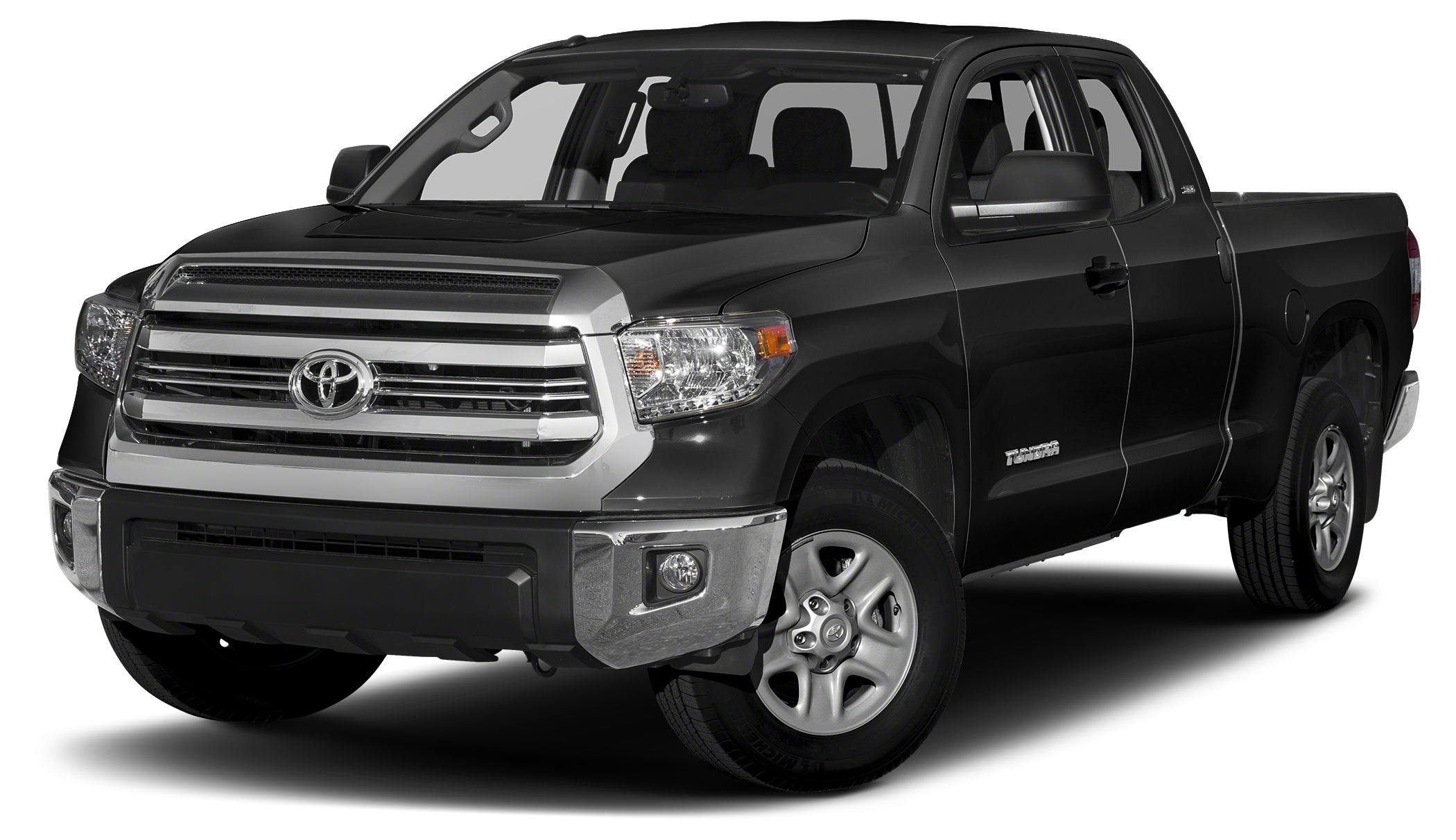 2015 Toyota Tundra SR5 CARFAX 1-Owner LOW MILES - 17556 BLACK exterior and BLACK interior SR5