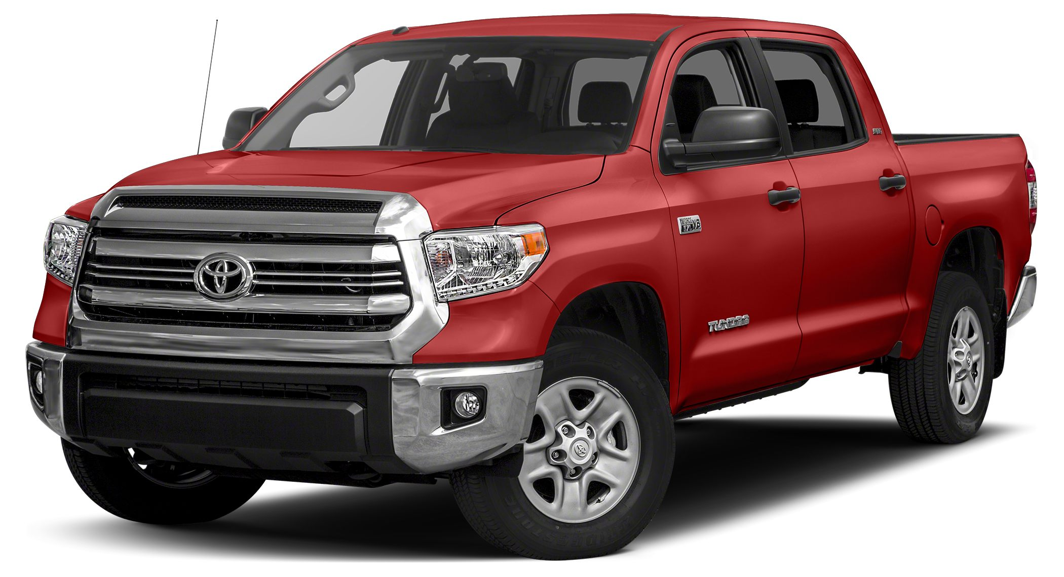 2017 Toyota Tundra SR5 SR5 trim INFERNO exterior and BLACK interior iPodMP3 Input Satellite Ra