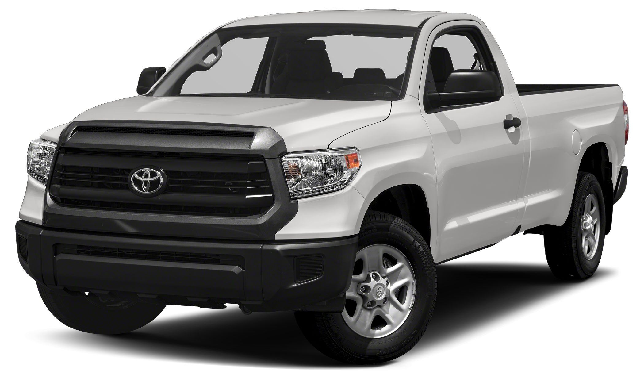 2017 Toyota Tundra SR SR trim SUPER WHITE exterior and GRAPHITE interior Bluetooth CD Player H