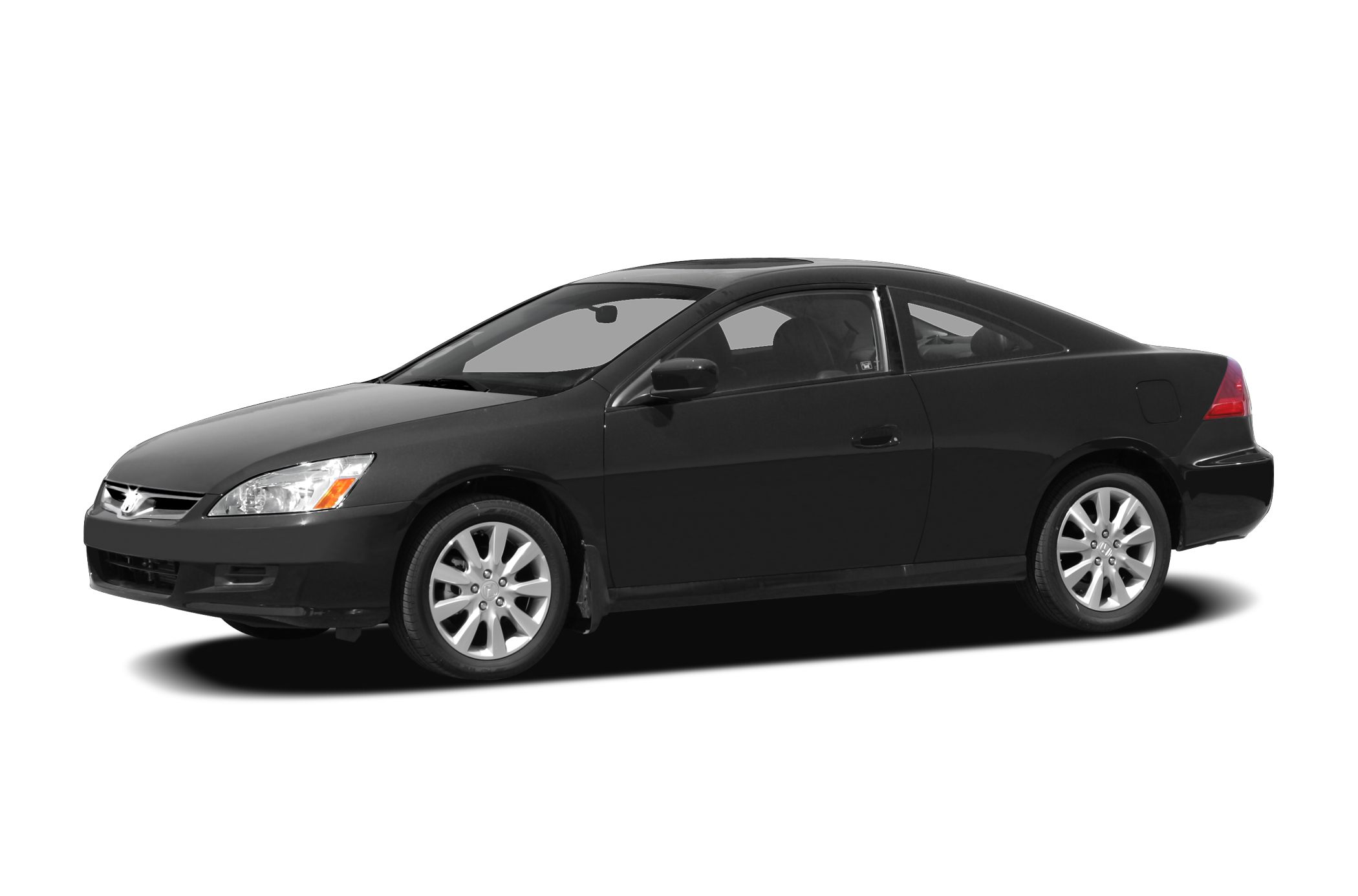 2007 Honda Accord 30 EX Cool Blue Metallic exterior and Black interior EX-L trim EPA 29 MPG Hwy