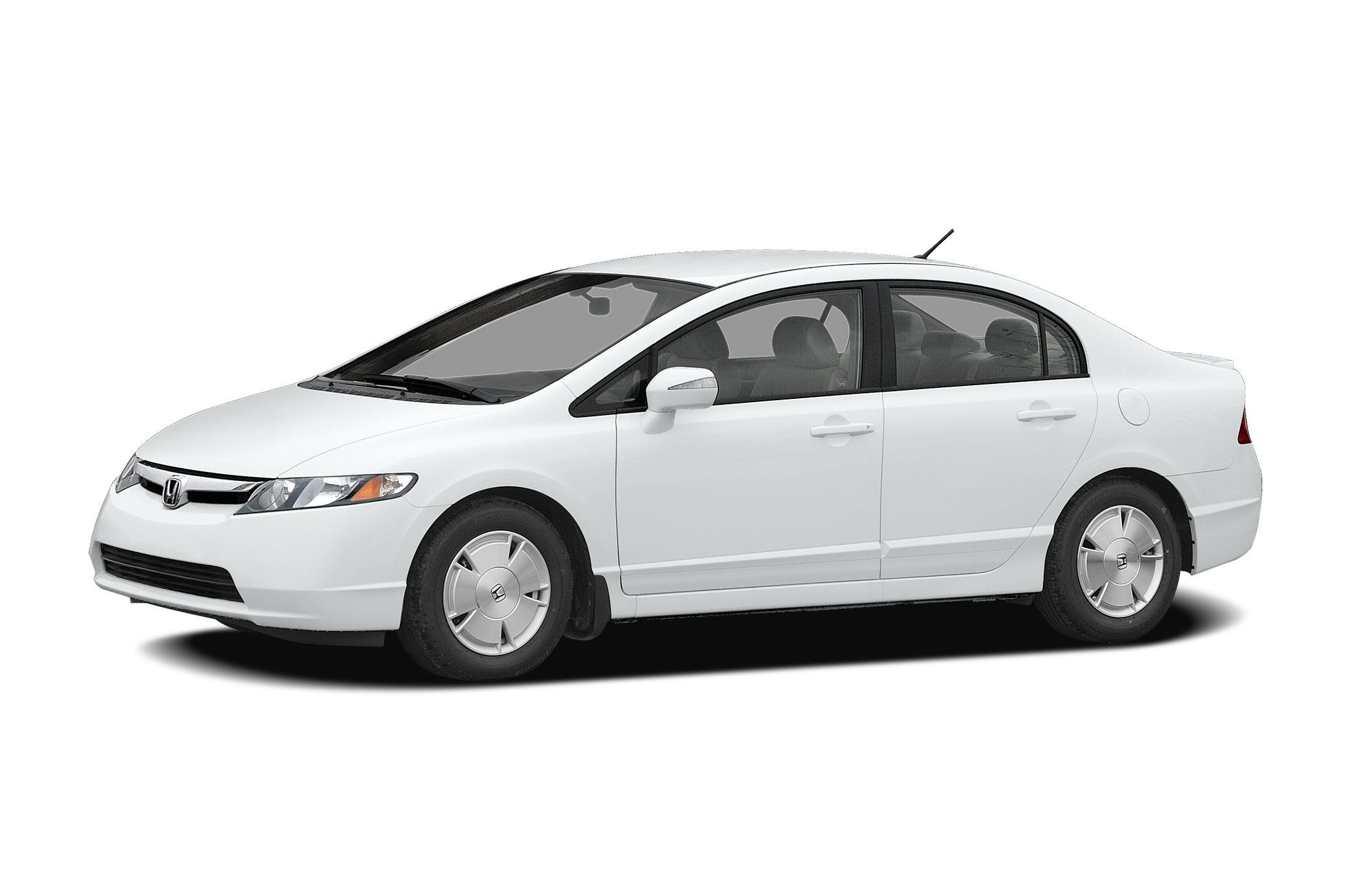 2007 Honda Civic Hybrid Base Miles 153769Color Silver Stock 8556B VIN JHMFA36287S008944