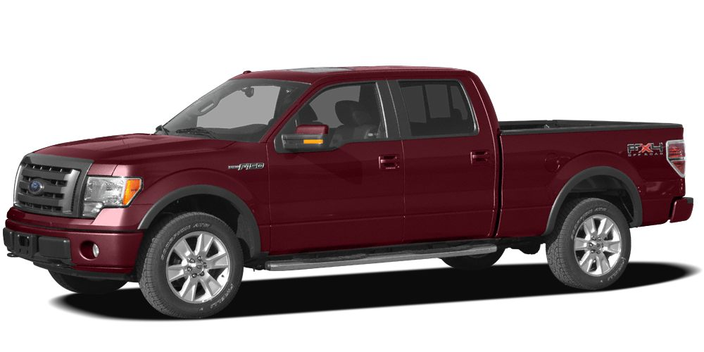 2009 Ford F-150 Lariat Miles 115540Color Royal Red Clearcoat Metallic Stock 9FA65060 VIN 1FT
