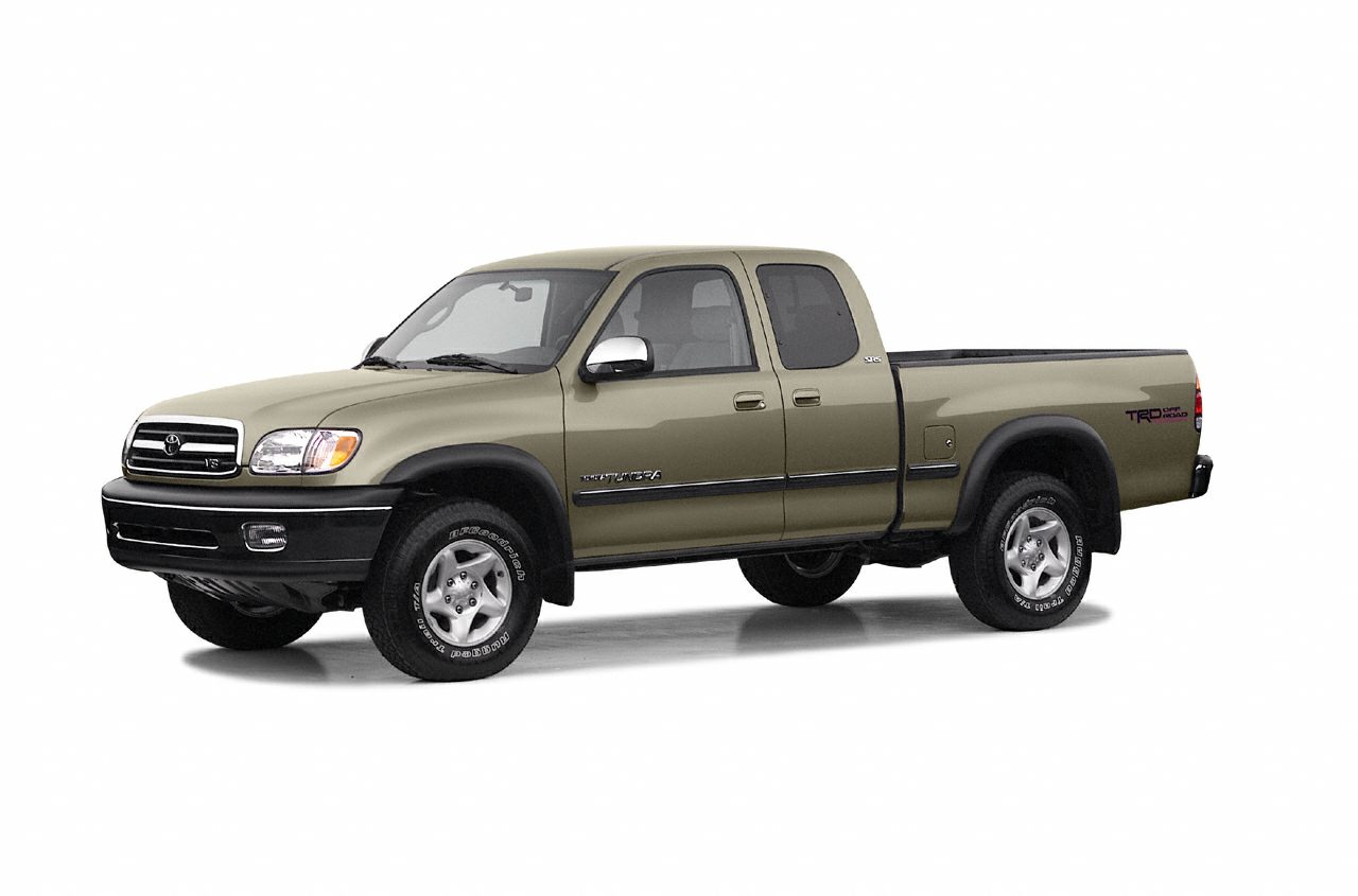 2002 Toyota Tundra Limited Ltd trim Edmunds Consumers Most Wanted Large Pickup CD Changer Four