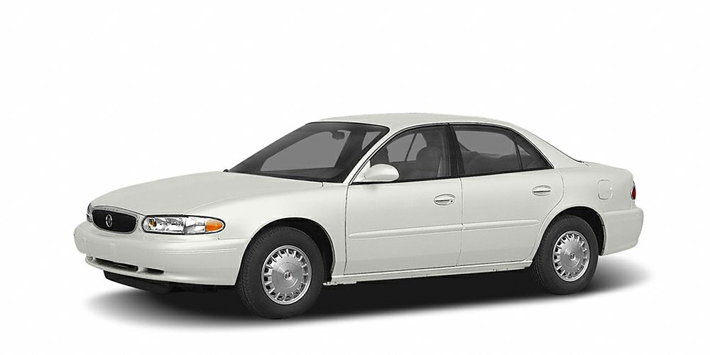 2004 Buick Century Base Miles 76626Color White Stock R15270D VIN 2G4WS52J741180266