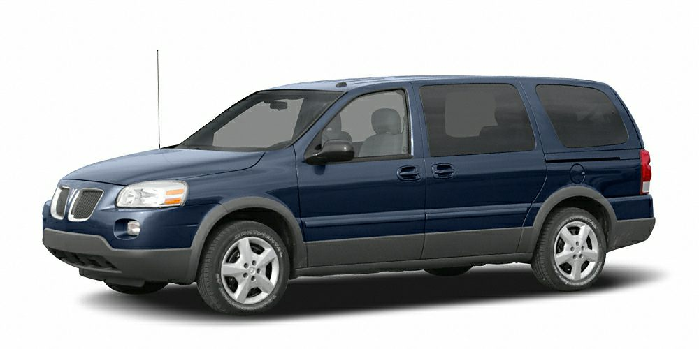 2006 Pontiac Montana SV6 Base LOCAL TRADE 17 Chrome Tech Aluminum Wheels 6-Way Power Front P