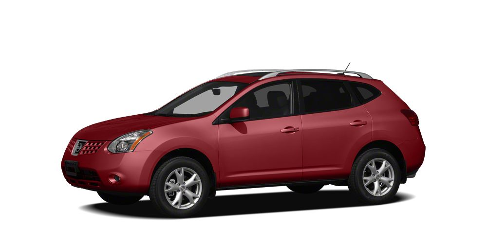 2008 Nissan Rogue SL Miles 64594Color Venom Red Pearl Stock 16R477A VIN JN8AS58T08W005867