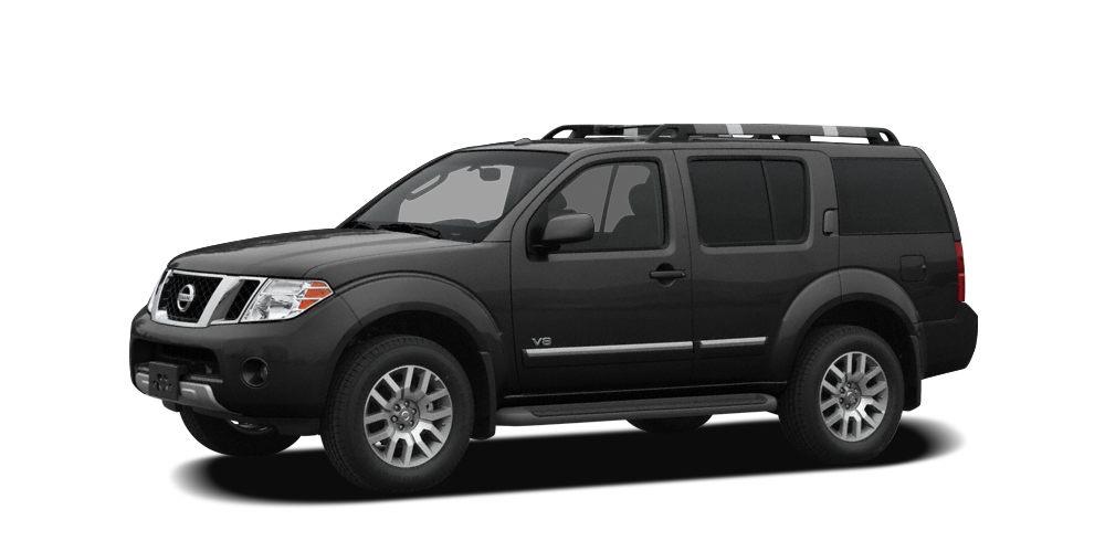 2008 Nissan Pathfinder SE Miles 77221Color Super Black Metallic Stock H6265P VIN 5N1AR18B08C
