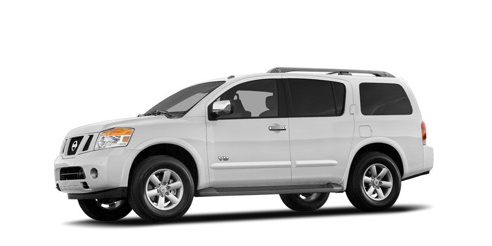 2008 Nissan Armada LE Miles 99609Color Blizzard Stock 18717 VIN 5N1AA08C88N603823