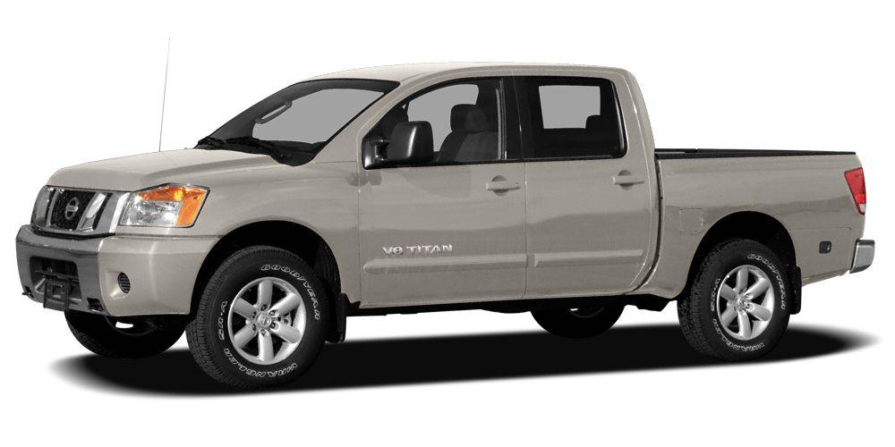 2008 Nissan Titan SE Miles 80896Color Desert Stone Stock NR1643A VIN 1N6AA07D58N321375