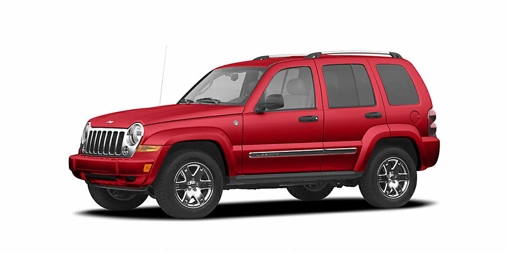 2007 Jeep Liberty Limited Miles 65203Color Red Stock FD830036A VIN 1J4GL58K97W526220