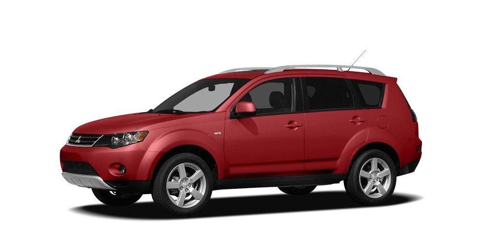 2008 Mitsubishi Outlander ES Miles 68852Color Rally Red Metallic Stock 15P453B VIN JA4LS21W4