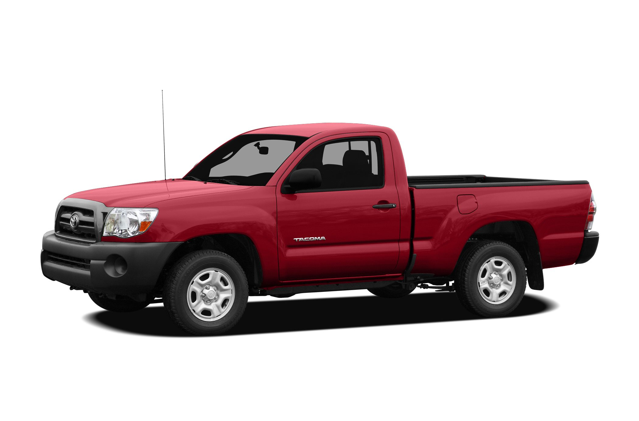 2009 Toyota Tacoma Base 27L I4 SMPI DOHC and Barcelona Red Metallic 5 speed manual Long Bed Al