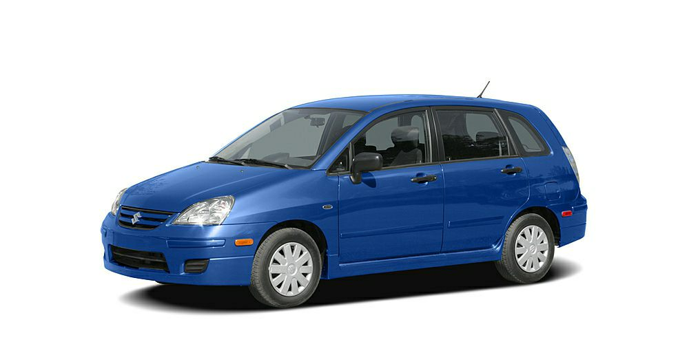 2006 Suzuki Aerio SX Premium Miles 100188Color Blue Stock F15AL932B VIN JS2RC62H565350746