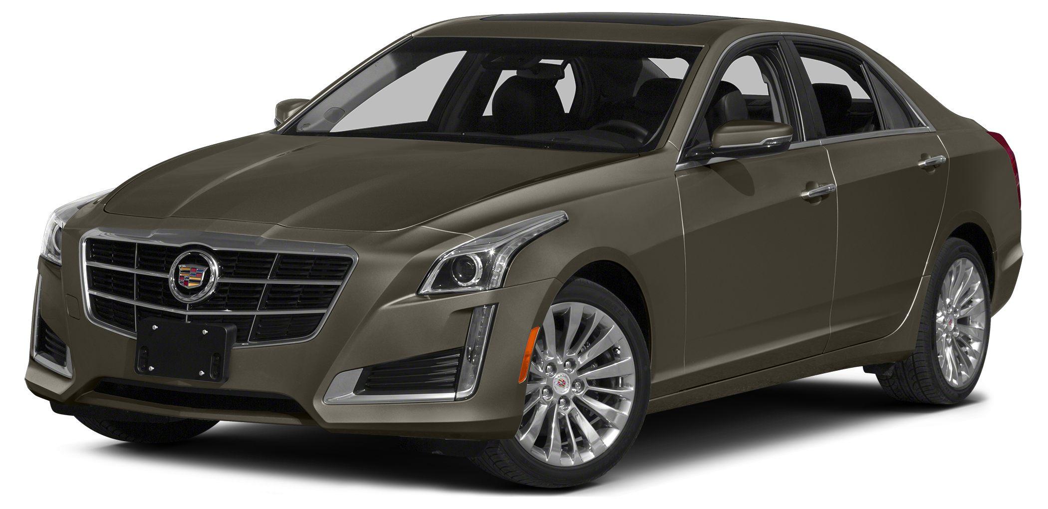 2014 Cadillac CTS Base Look at this 2014 Cadillac CTS Sedan RWD Its Automatic transmission and Tu