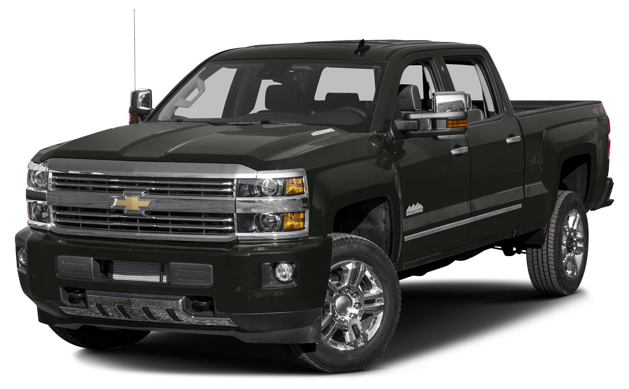 2017 Chevrolet Silverado 2500HD High Country Heated Leather Seats NAV Turbo Alloy Wheels Bed L