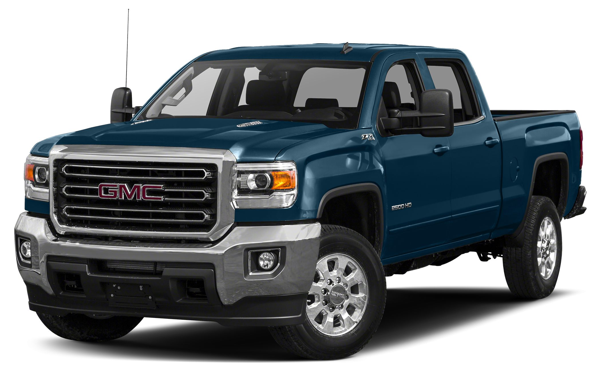 2018 GMC Sierra 2500HD SLE For a smoother ride opt for this 2018 GMC Sierra 2500HD SLE with a bac