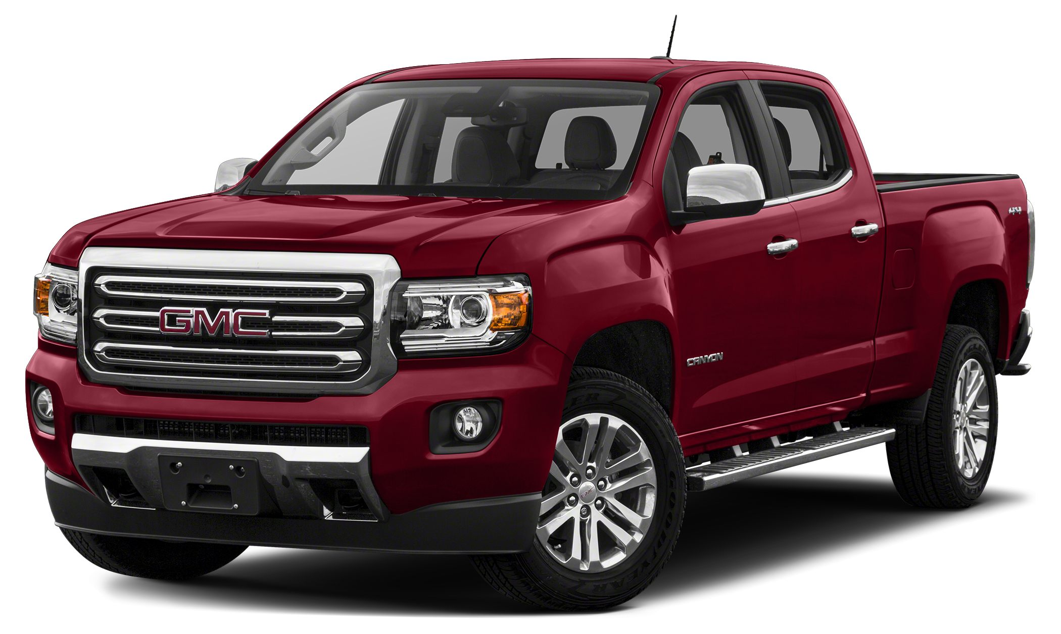 2017 GMC Canyon SLT The GMC Canyon will redefine the small truck category with segment-leading fea
