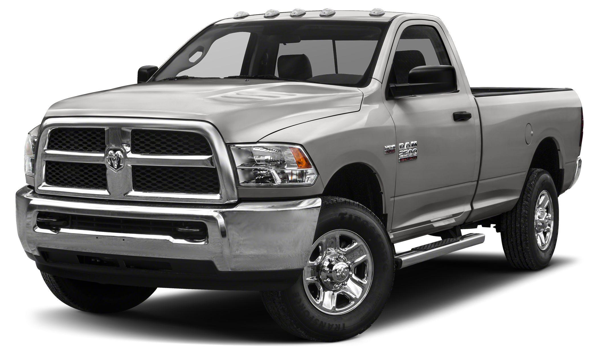 2016 RAM 2500 Tradesman Miles 18Color Bright Silver Metallic Clearcoat Stock 16R151 VIN 3C6M