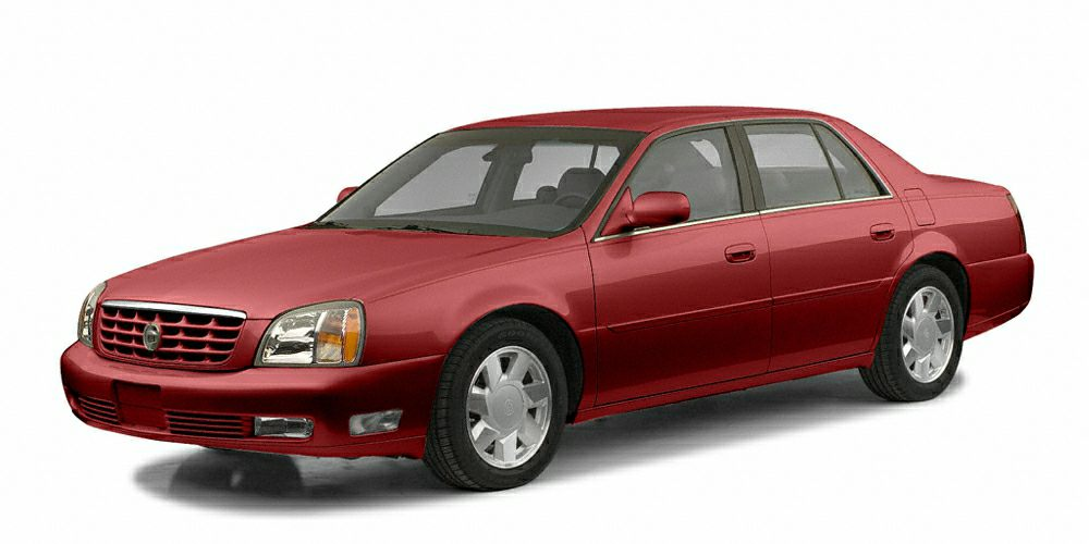 2002 Cadillac DeVille DTS Land a bargain on this 2002 Cadillac DeVille DTS before someone else tak