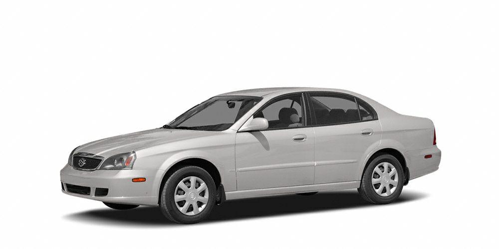 2004 Suzuki Verona EX Grab a deal on this 2004 Suzuki Verona EX while we have it Comfortable but