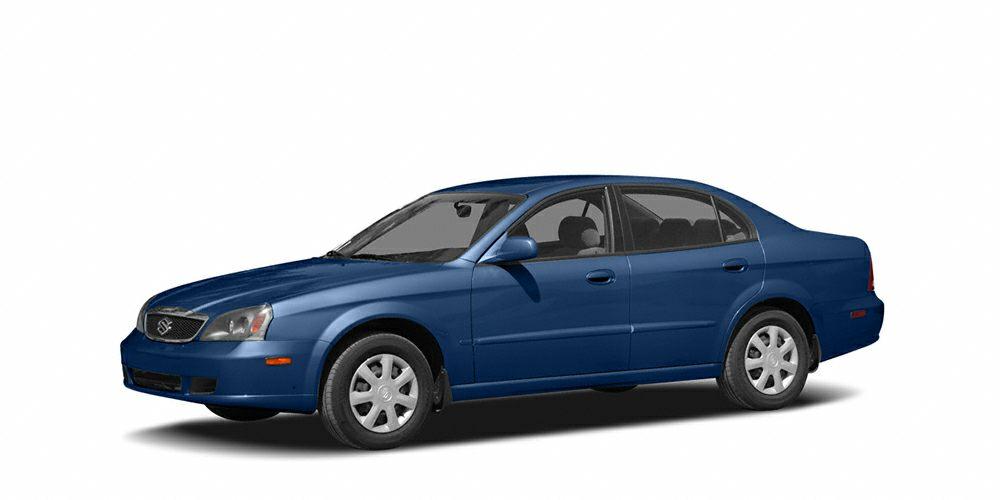 2004 Suzuki Verona EX Grab a deal on this 2004 Suzuki Verona EX before someone else takes it home