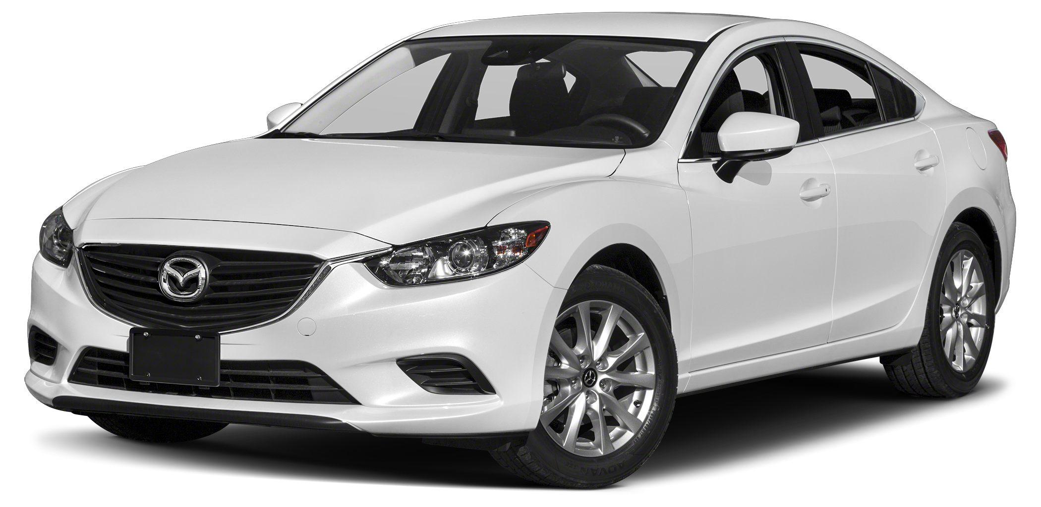 2017 Mazda MAZDA6 Sport Miles 1Color Snowflake White Pearl Mica Stock RM0594 VIN JM1GL1U59H1