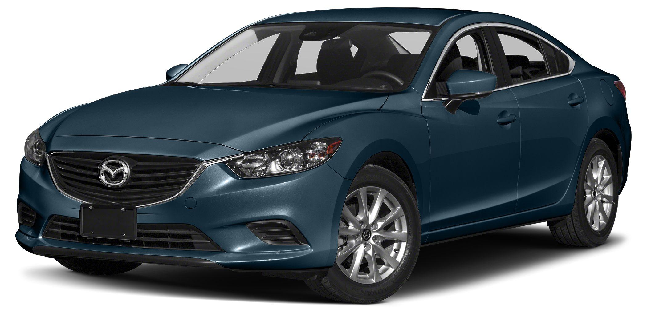 2017 Mazda MAZDA6 i Sport Miles 1Color Deep Crystal Blue Mica Stock RM0306 VIN JM1GL1U57H113
