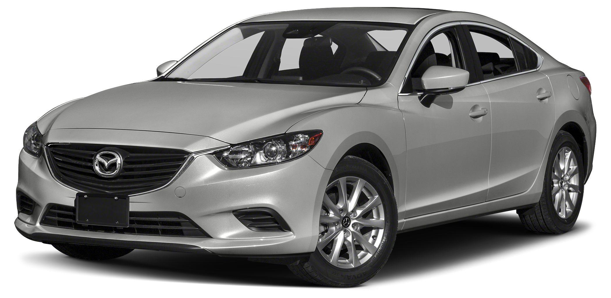 2017 Mazda MAZDA6 i Sport Miles 1Color Sonic Silver Metallic Stock RM0237 VIN JM1GL1U50H1133