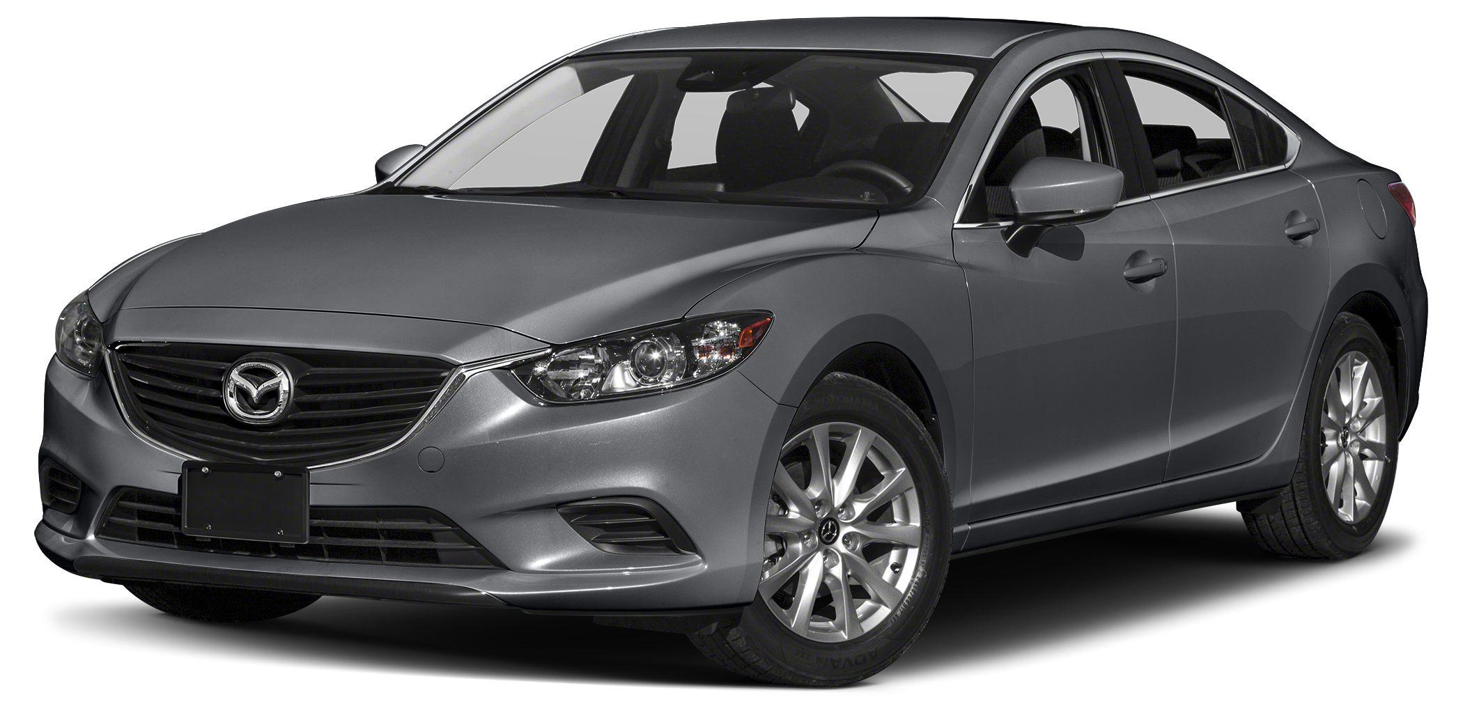 2017 Mazda MAZDA6 Sport Miles 1Color Machine Gray Metallic Stock RM0591 VIN JM1GL1U52H114859