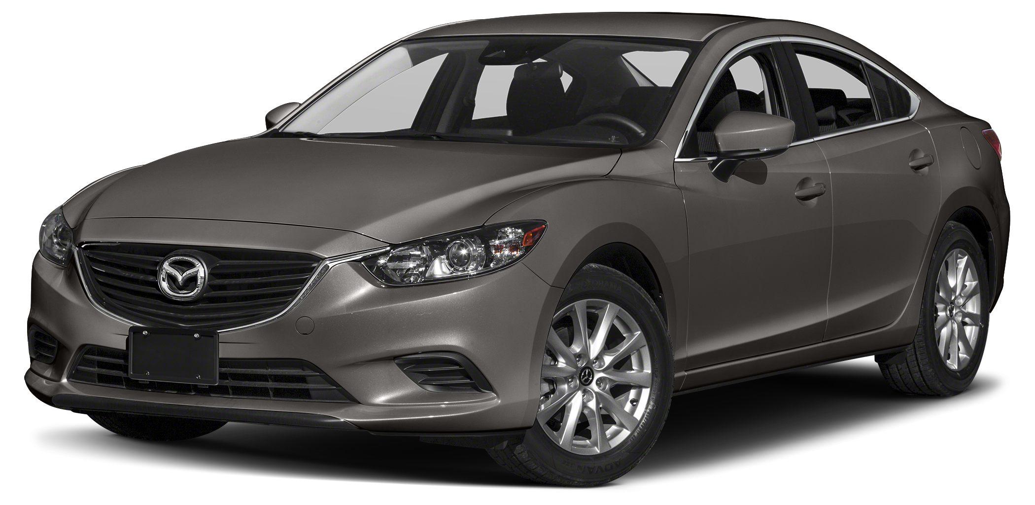 2017 Mazda MAZDA6 Sport Miles 1Color Titanium Flash Mica Stock RM0596 VIN JM1GL1U51H1152151