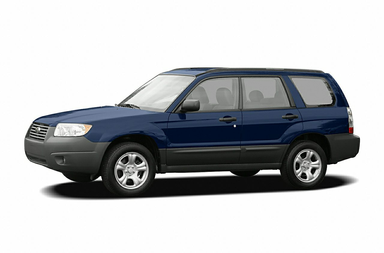 2006 Subaru Forester 25X  WHEN IT COMES TO EXCELLENCE IN USED CAR SALESYOU KNOWYOURE AT STA