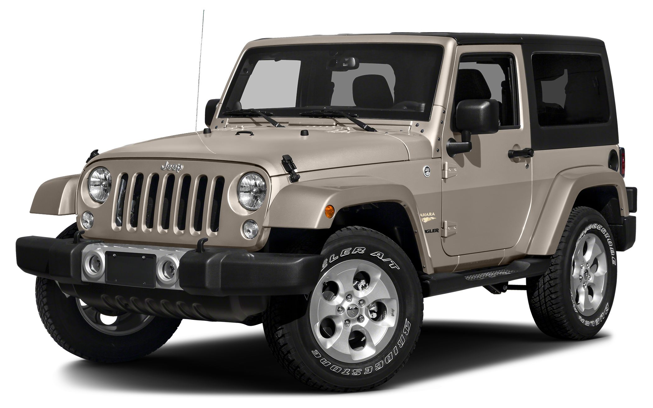 2016 Jeep Wrangler Sahara Miles 17Color Mojave Sand Clearcoat Stock 16W760 VIN 1C4AJWBG0GL32