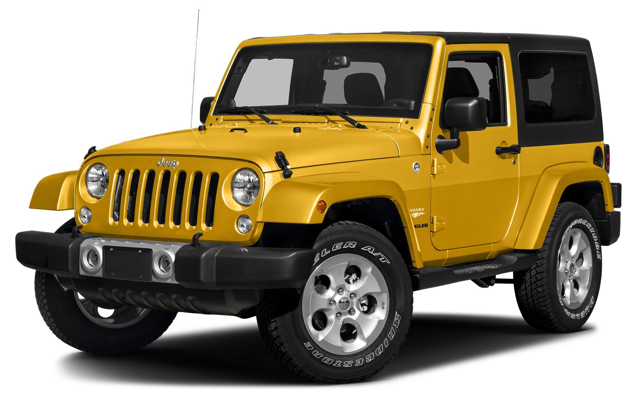 2015 Jeep Wrangler Sport Miles 3078Color Baja Yellow Clearcoat Stock P6943 VIN 1C4AJWAG4FL67