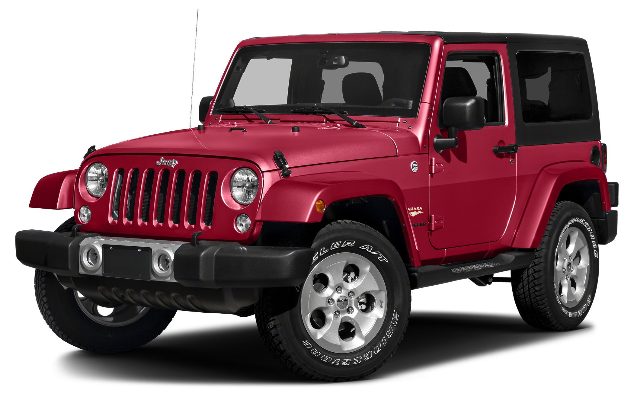 2015 Jeep Wrangler Sahara Miles 27485Color Firecracker Red Clearcoat Stock 948 VIN 1C4AJWBG4