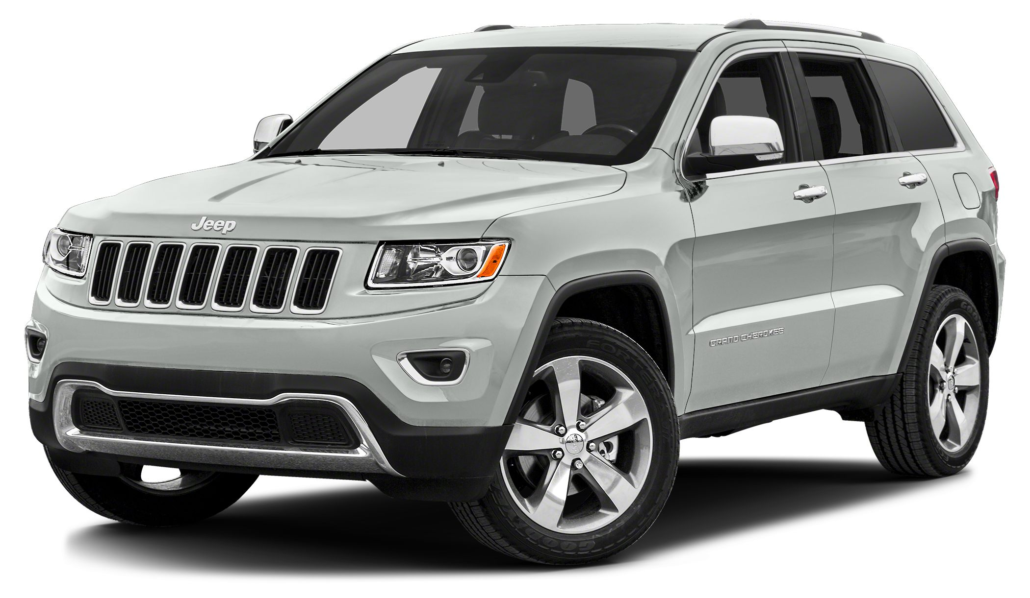 2014 Jeep Grand Cherokee Limited Miles 34215Color Bright White Clearcoat Stock JG1456A VIN 1